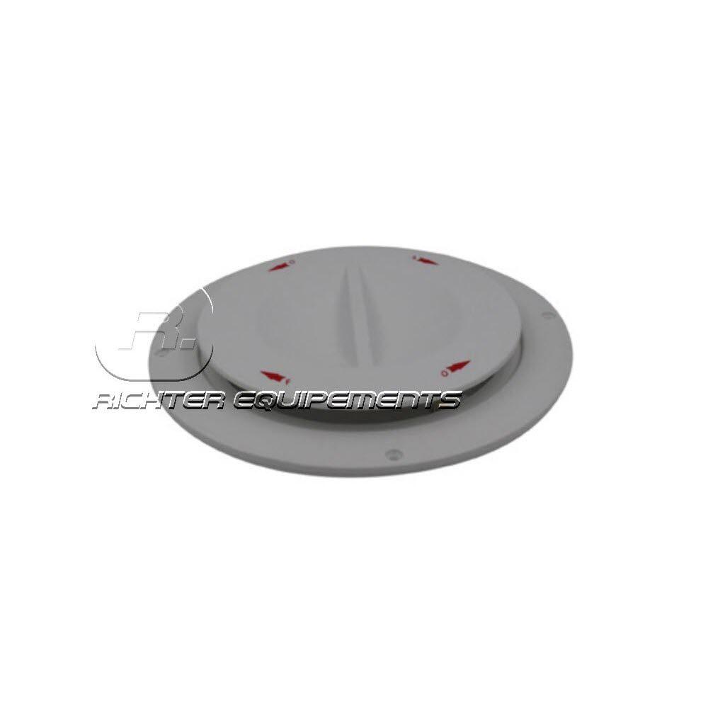 Aérateur de toit électrique plat