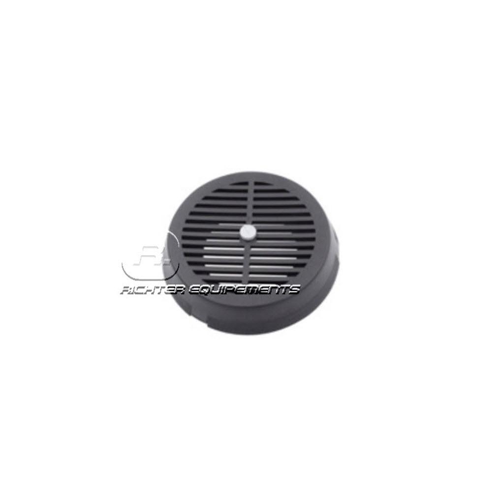 grille d'Aérateur de toit rotatif Flettner noir