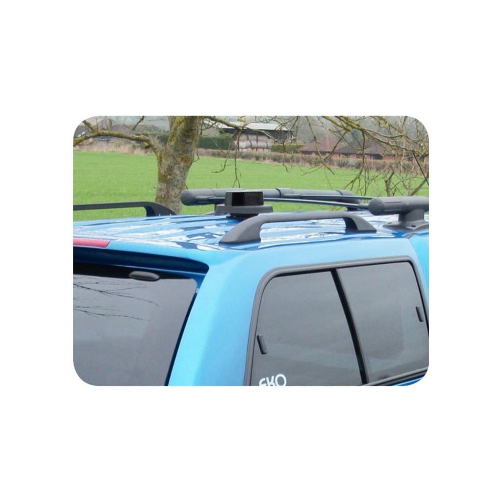 Aérateur de toit rotatif Flettner noir sur voiture