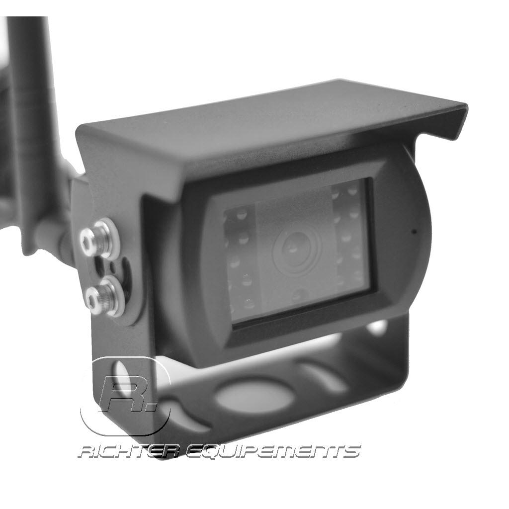 Vue latérale sur Camera de recul sans fil supplémentaire comptatible pour kit 4 voies