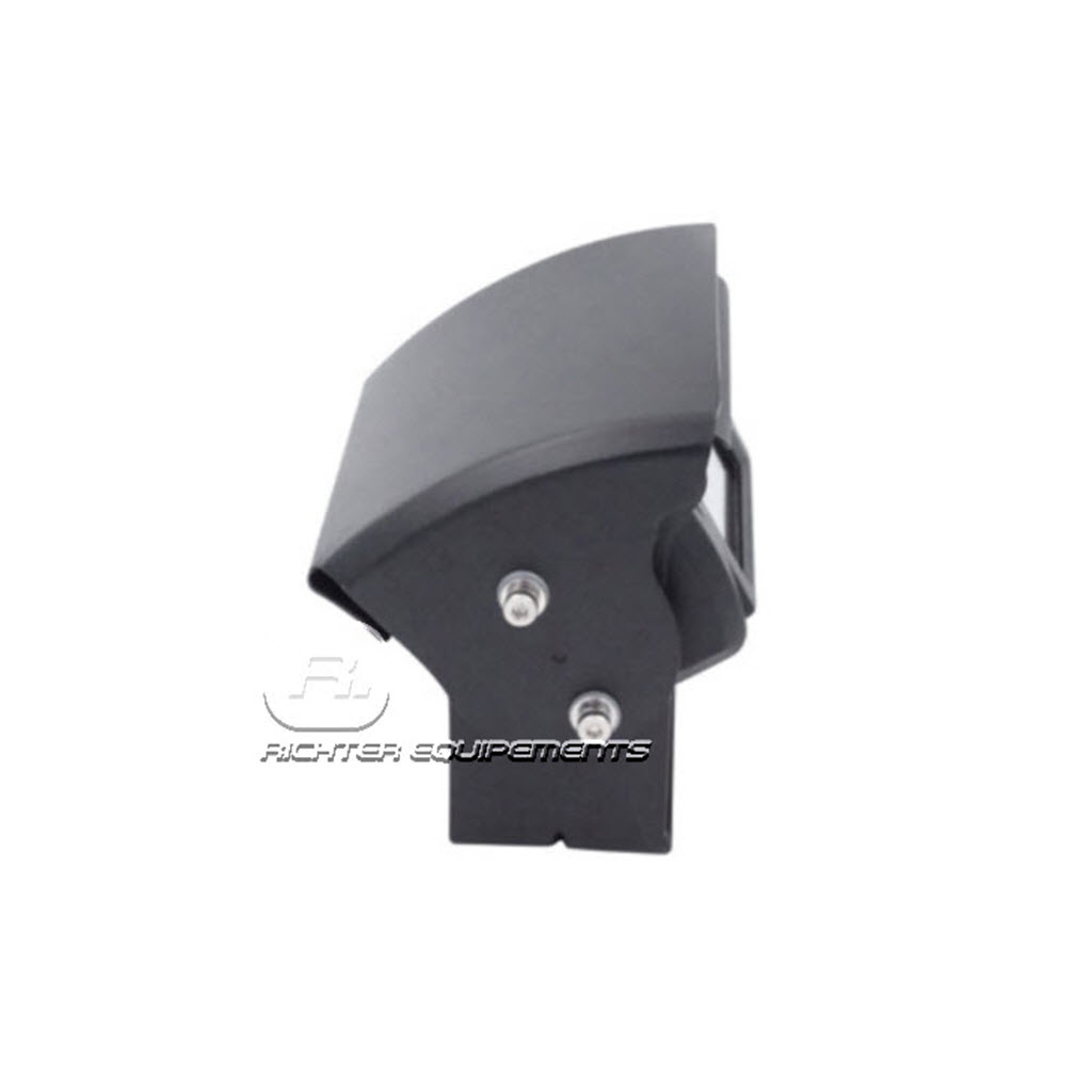 Camera de recul seule avec capot motorisé vue latérale