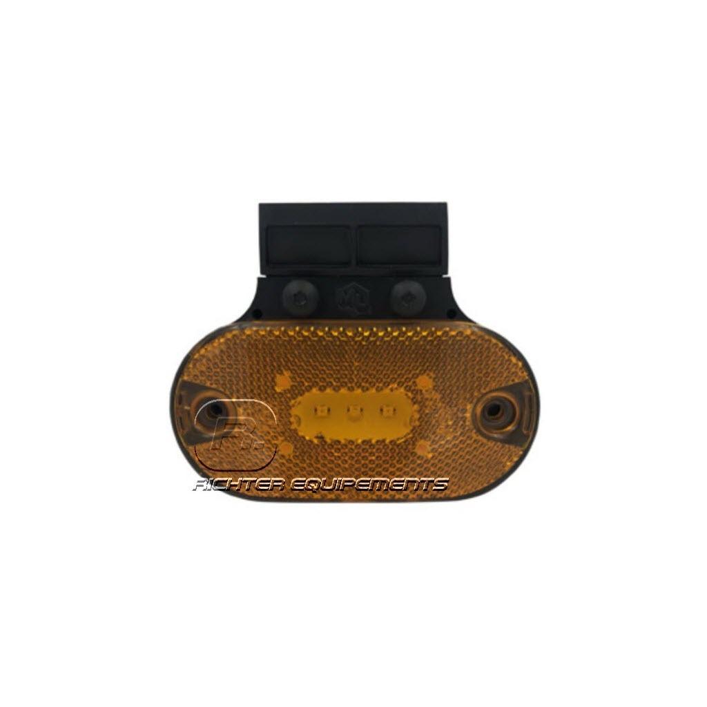 Feu ML LED à fixation arrière avec 2 connecteurs