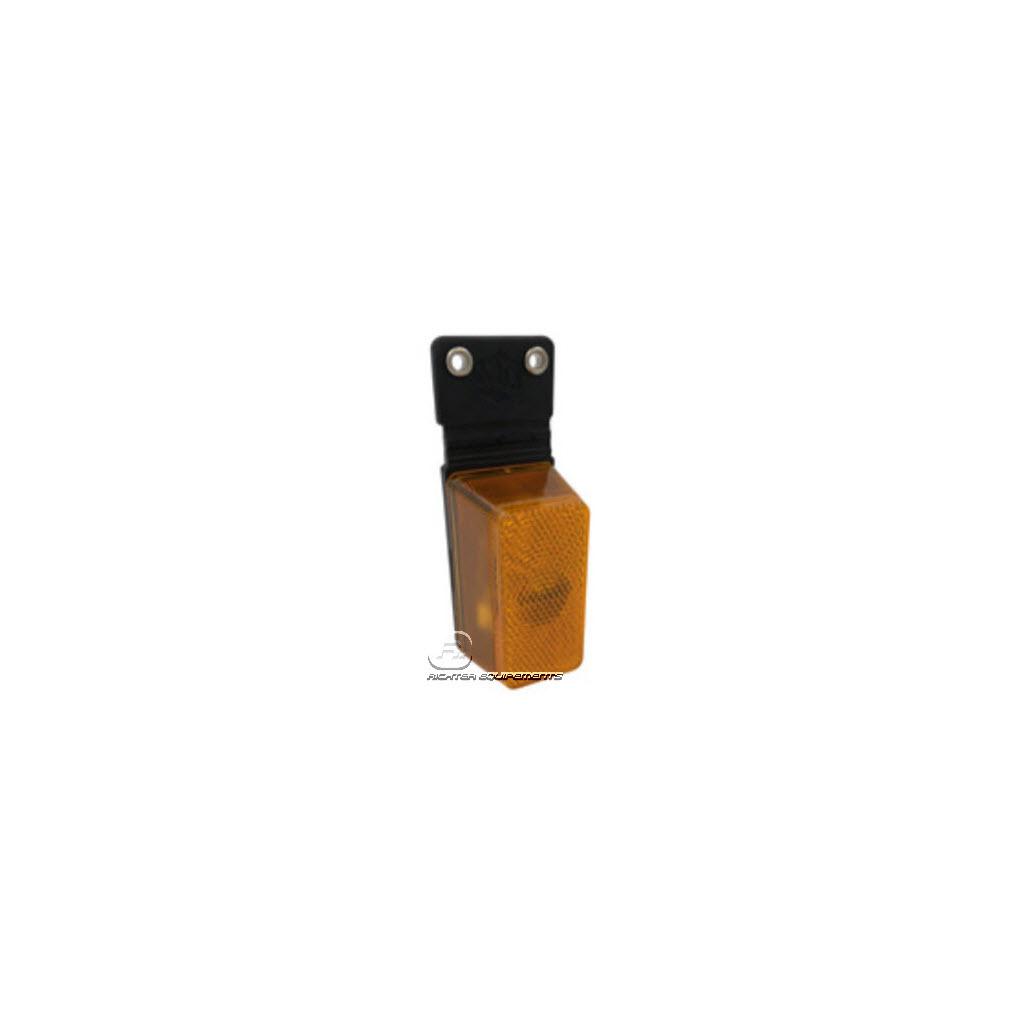 Feu de position latéral Orange avec Catadioptre sans accessoire