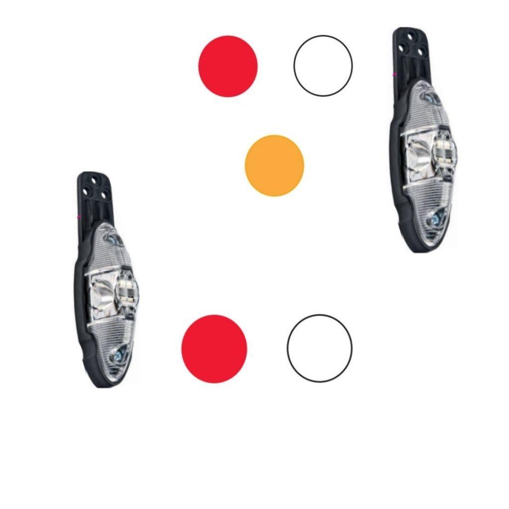 Feux bicolore ou tricolore