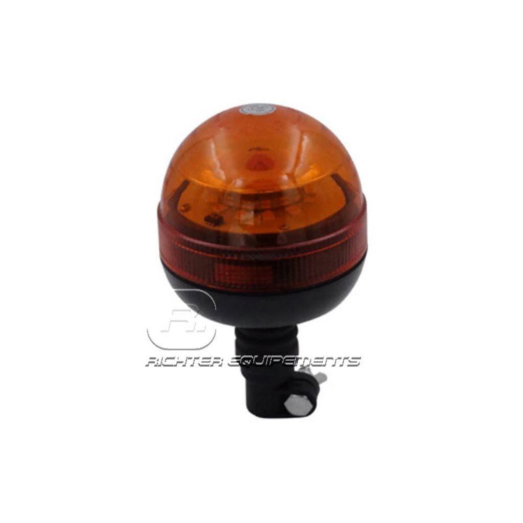 Gyrophare LED 12v pour tracteur