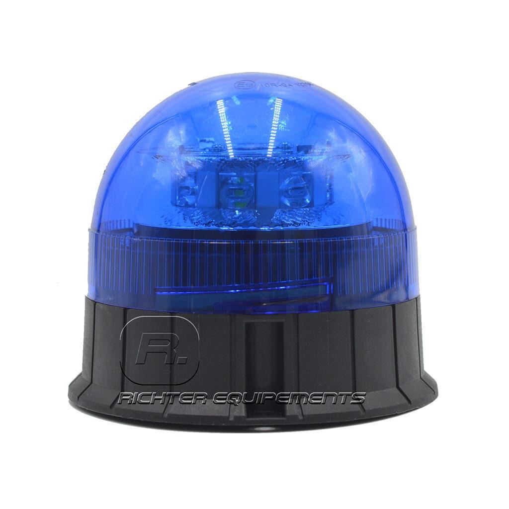 Gyrophare LED bleu 12-24 volt