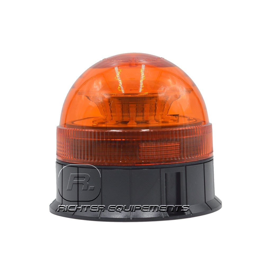 Gyrophare LED orange 24v