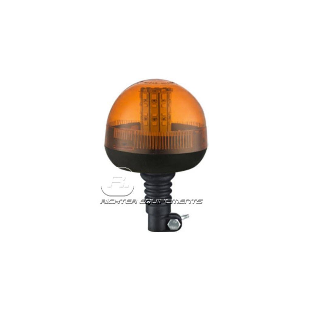 Gyrophare LED rotatif orange à flash tournant