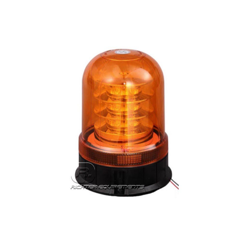 Gyrophare LED orange poids lourd