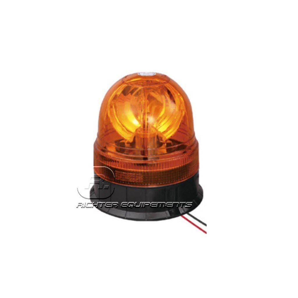 Gyrophare rotatif orange 12v