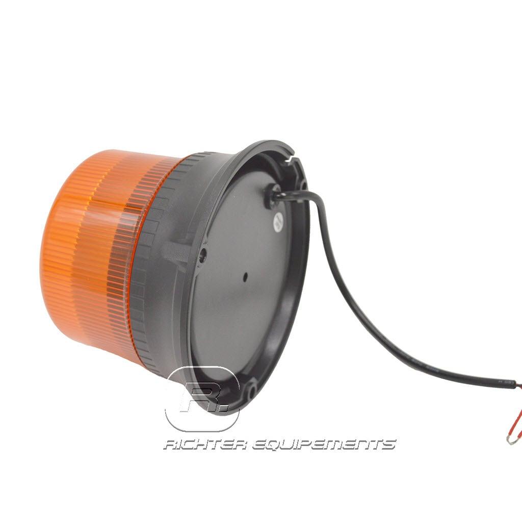 Gyrophare led pour camion vue support de fixation