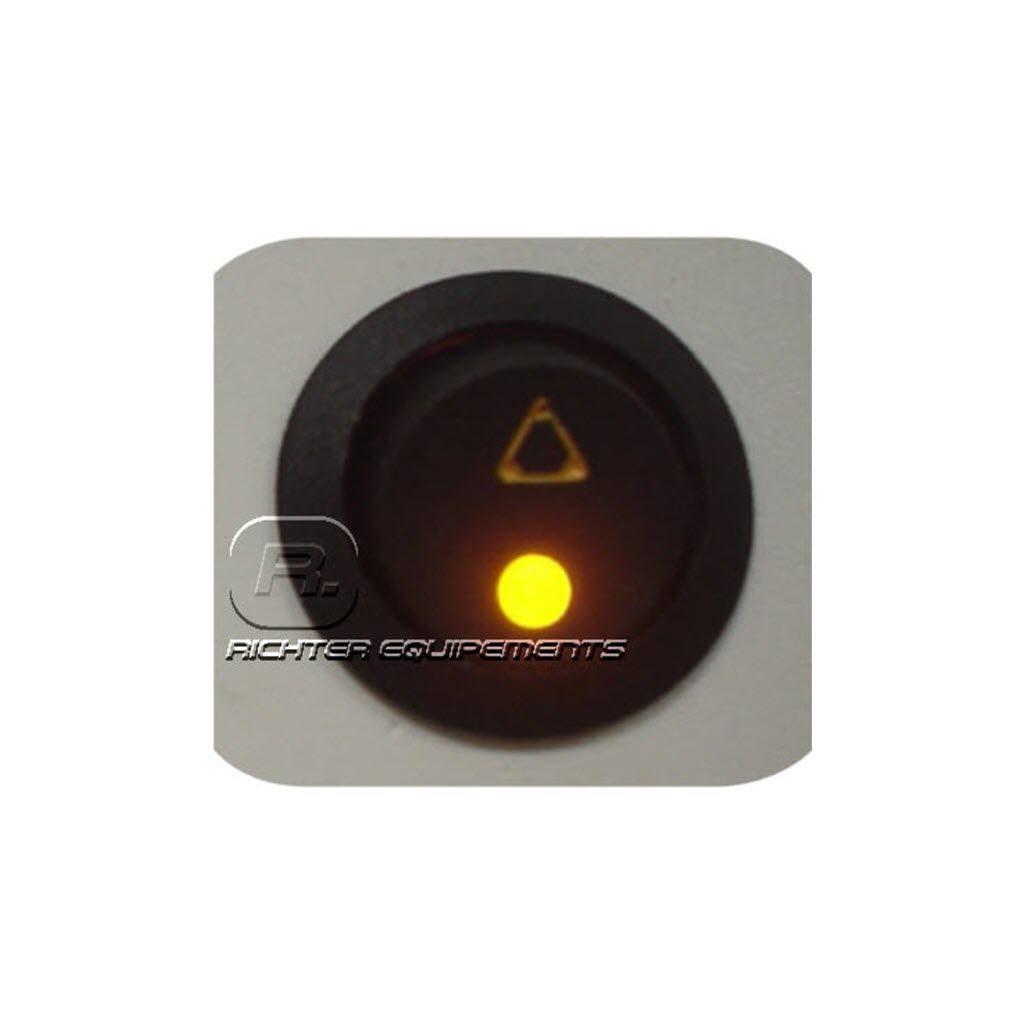 Interrupteurs à symbole triflash