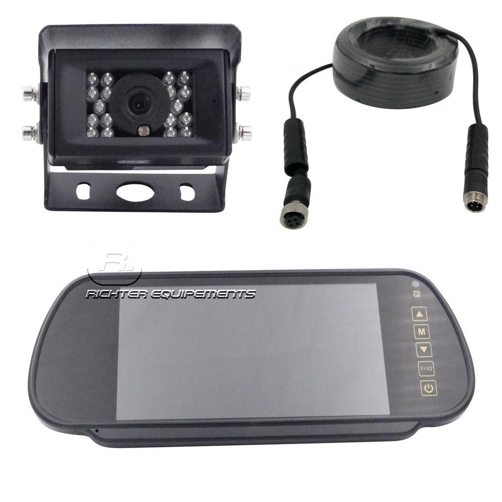 Kit caméra de recul avec moniteur type rétroviseur