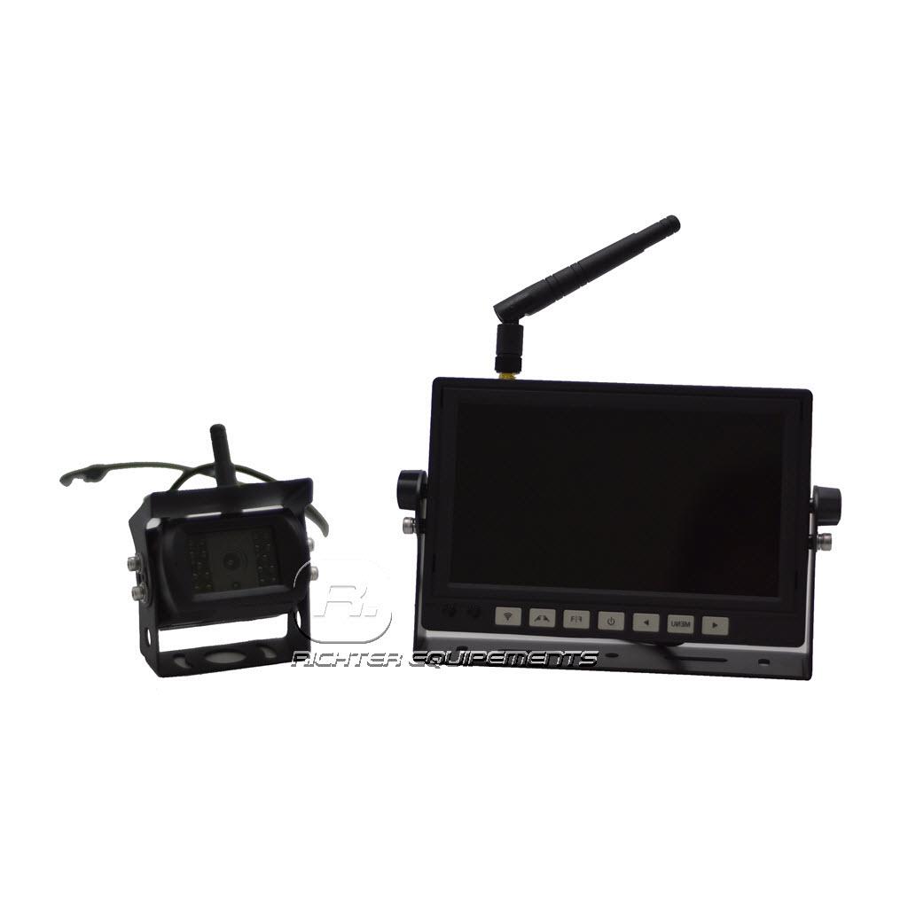 Kit de recul sans fil 24v avec moniteur sans fil et camera sans fil