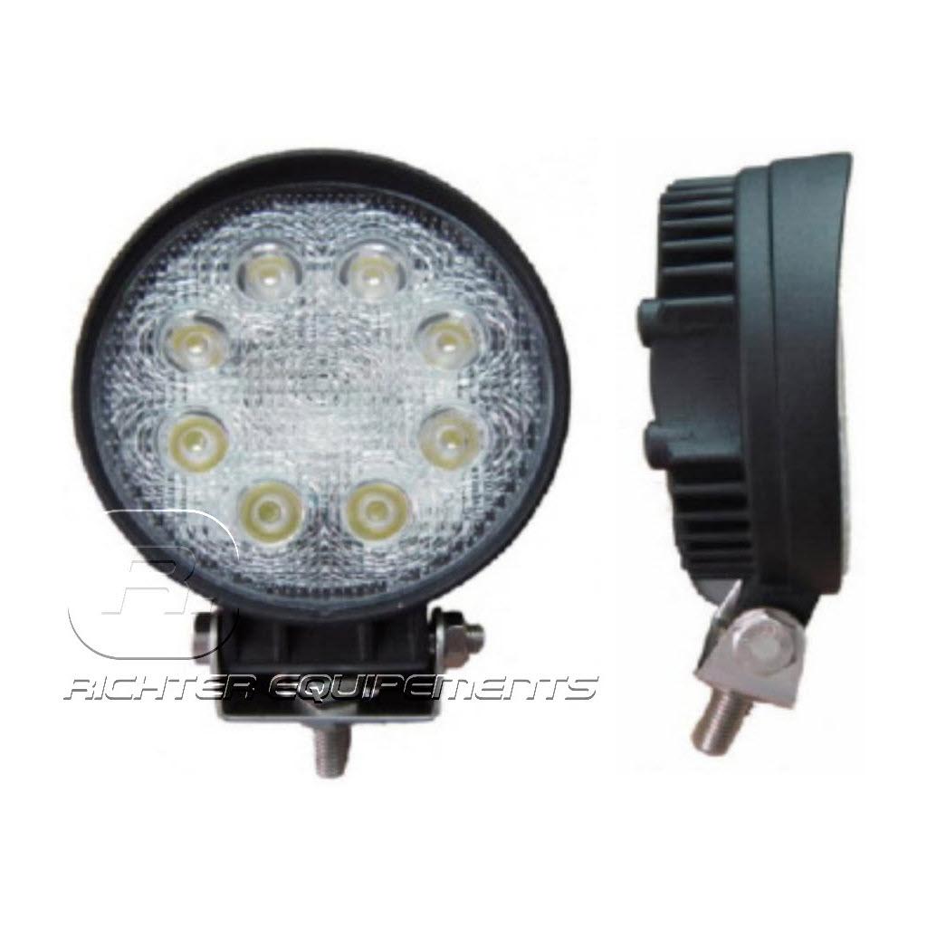Phare de travail LED rond