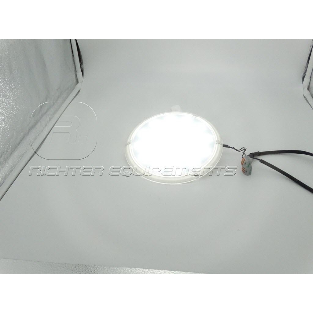 Plafonnier LED 12v 1300 lumens allumé