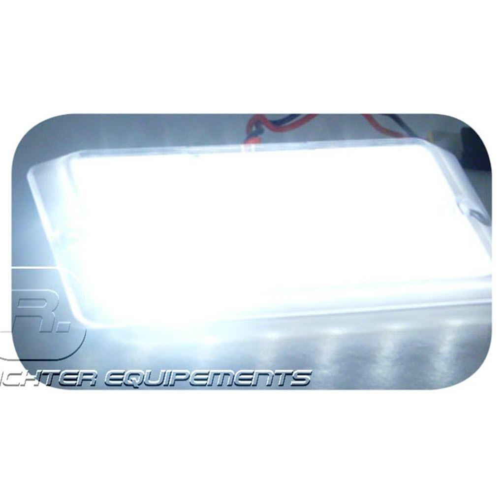 Plafonnier LED 24v 530 lumens allumé