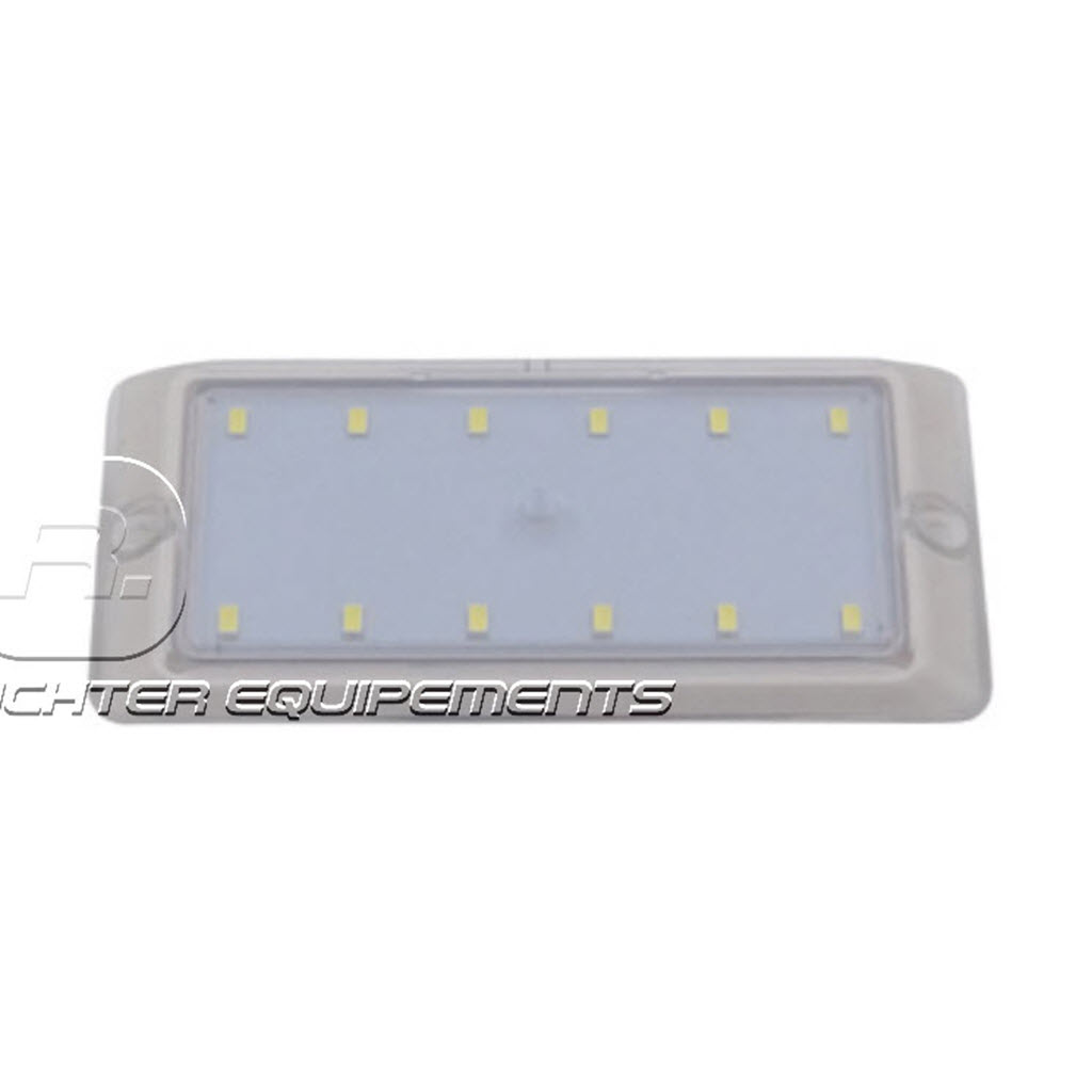 Plafonnier LED 24v 530 lumens gros plan
