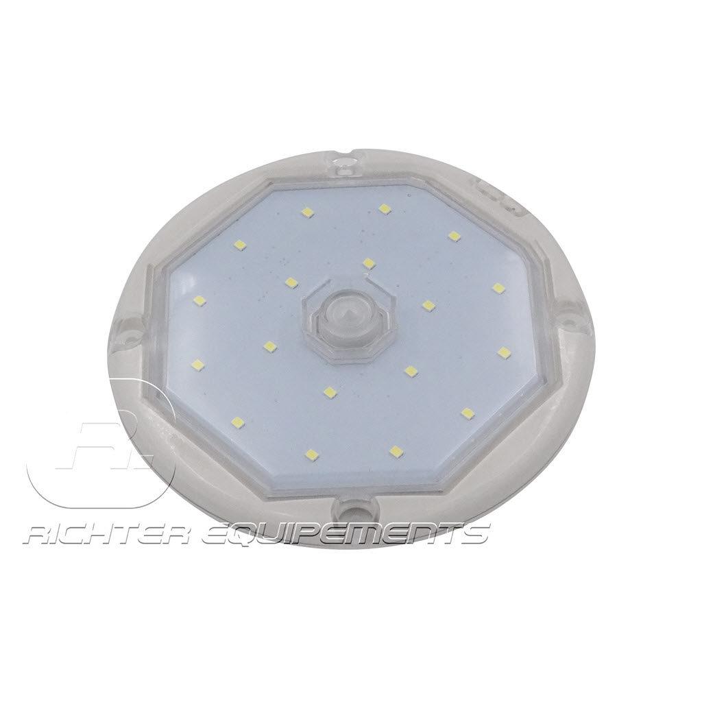 Plafonnier LED avec détecteur de présence IP69