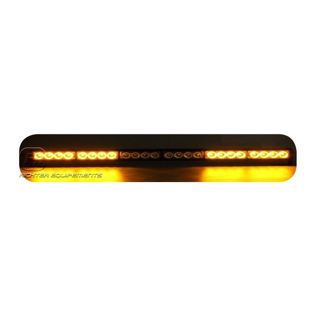 Rampe de gyrophare LED magnétique 1000 mm allumé