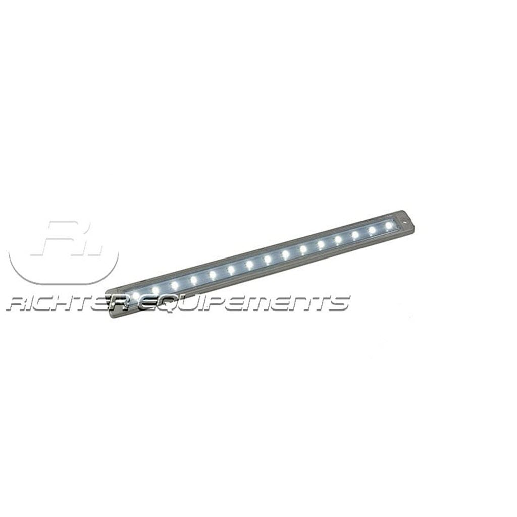 Reglette LED 12v à 24v 700 Lumens allumé