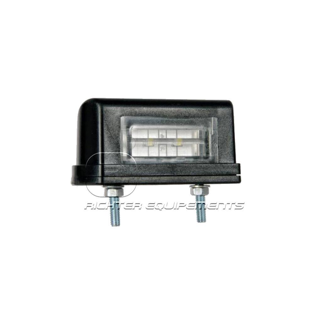 Set de 2 éclaireurs de plaque LED standard