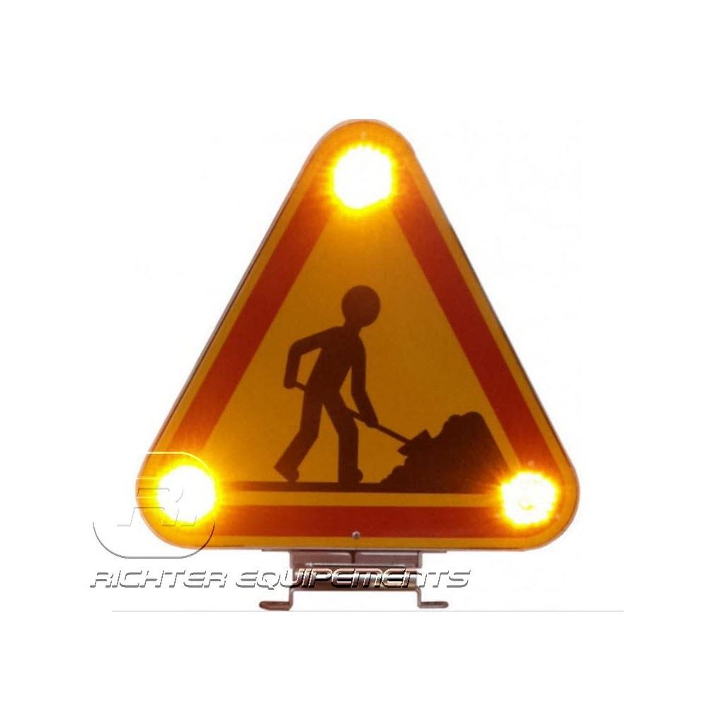 Triflash LED classe A ou B allumé