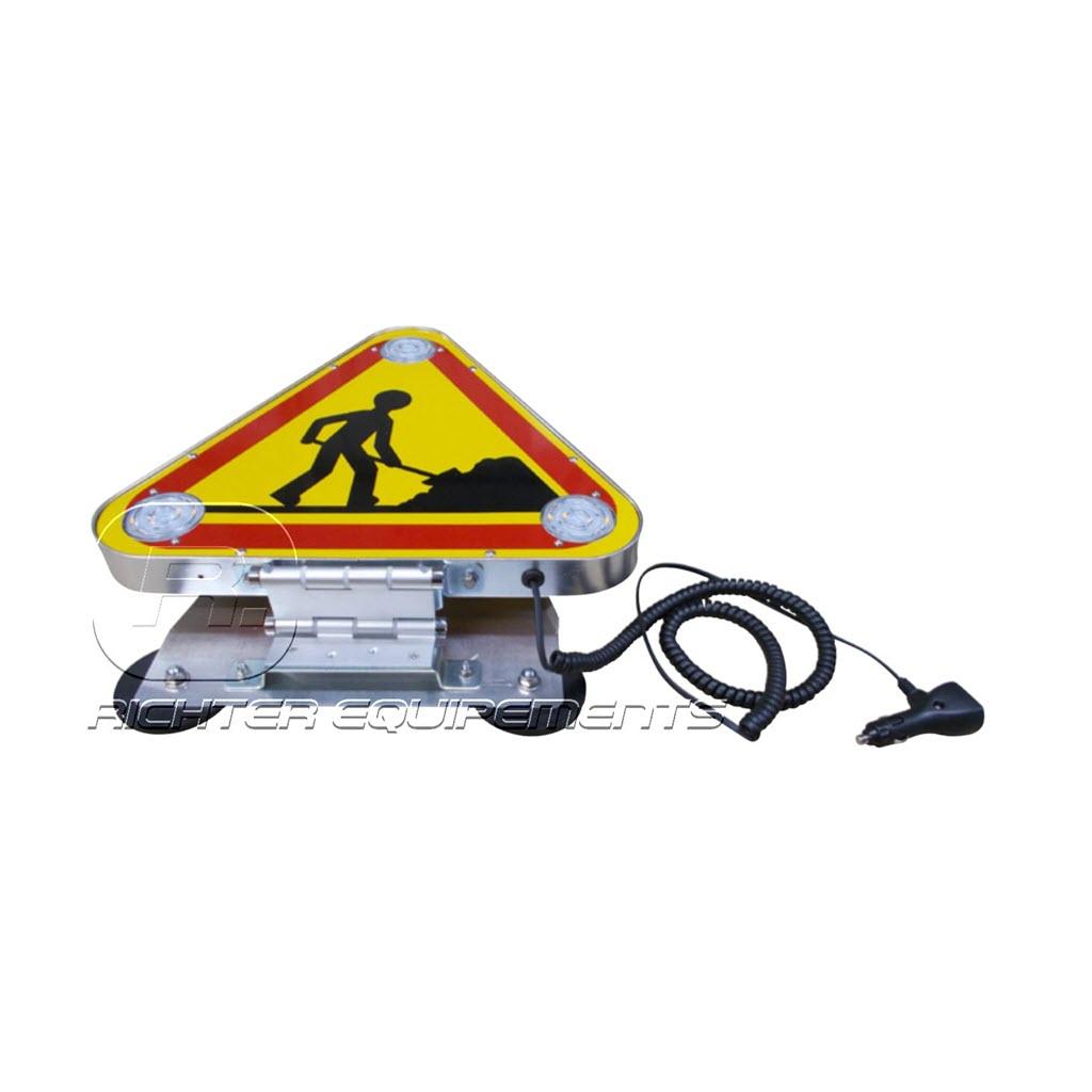 Triflash magnétique de classe A pour véhicule