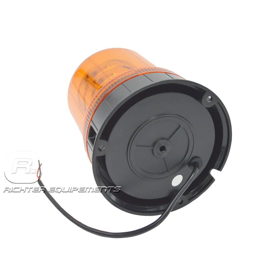 Gyrophare led orange poids lourd vue de dos