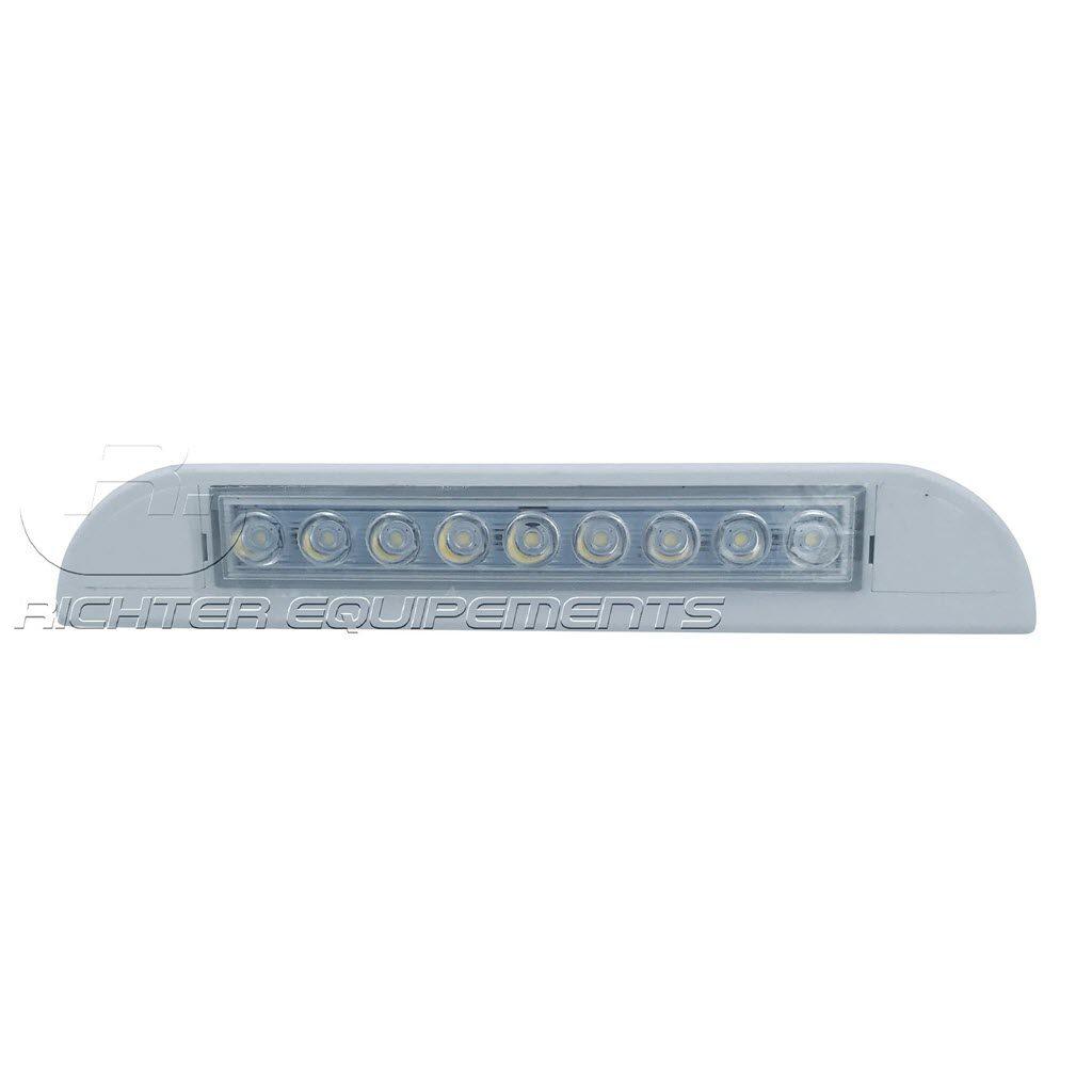 Petite reglette LED d'angle pour camping car ou camion