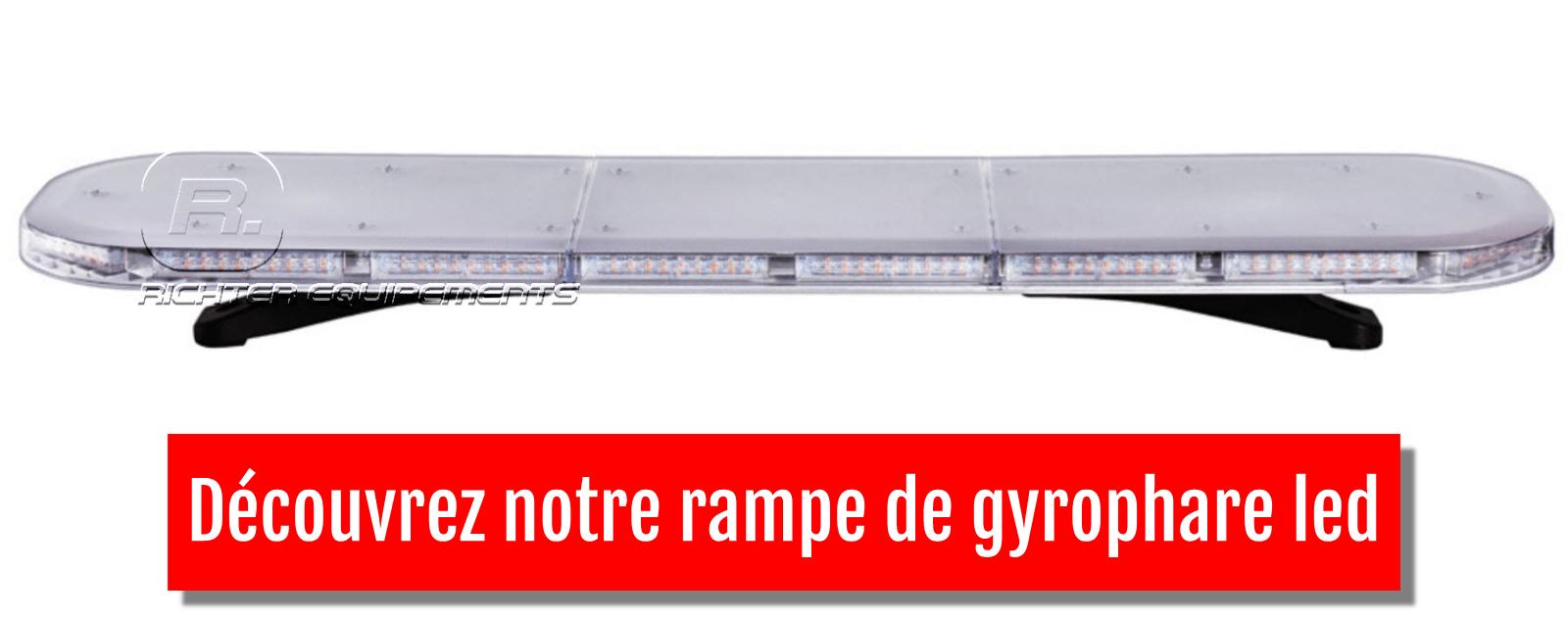 découvrez notre rampe de gyrophare led sur richter equipements