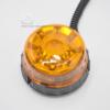 Vue du dessus du gyrophare led rotatif mini