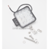 photo du matériel de fixation fournit avec le Phare de travail carré à led de 2000 lumen
