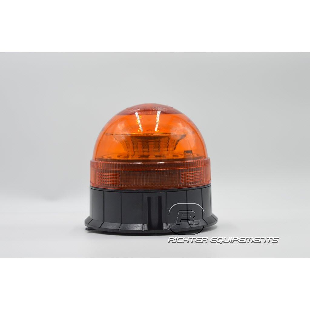 Gyrophare flash led orange