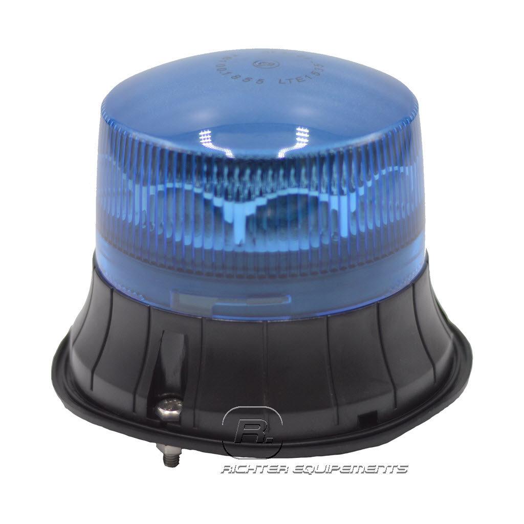 Gyrophare Led rotatif bleu