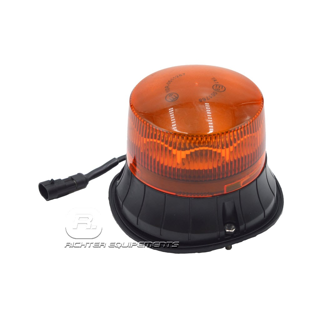 Gyrophare led rotatif à câble AMP