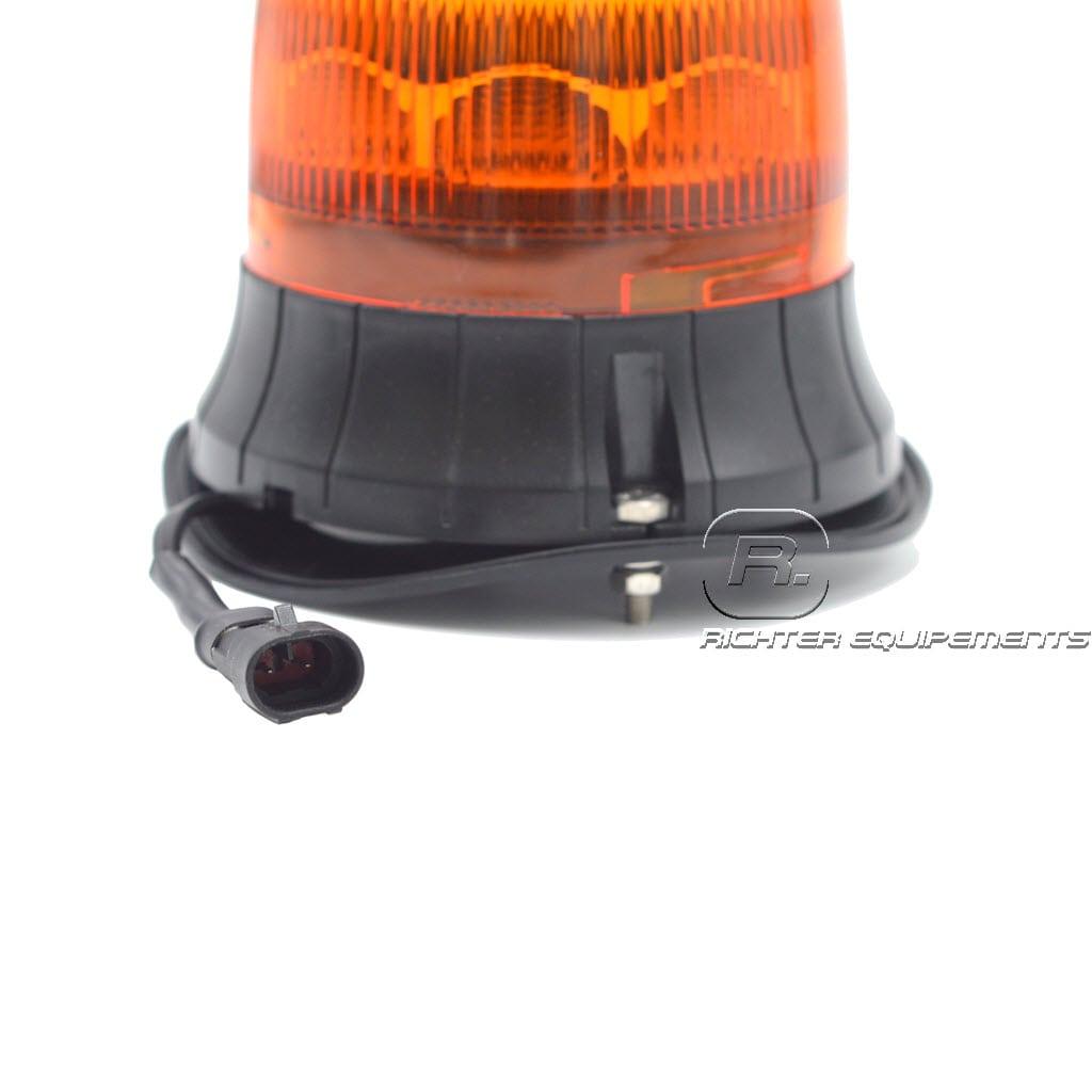 Vue sur câble AMP , gyrophare led rotatif